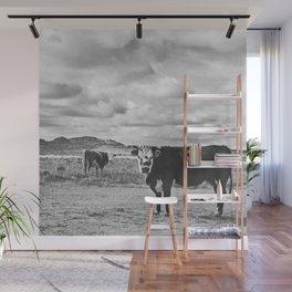 Desert Cattle Wall Mural