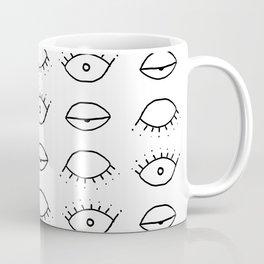 Three eyes pattern Coffee Mug