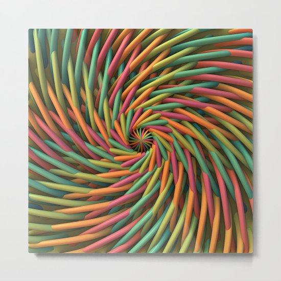 Swirl-o-Rama Metal Print