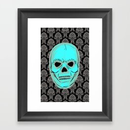 Skull mask Framed Art Print