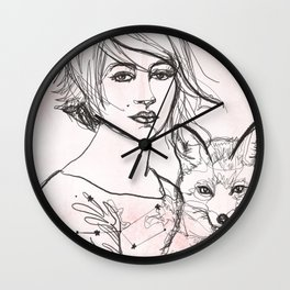 Home Star Wall Clock