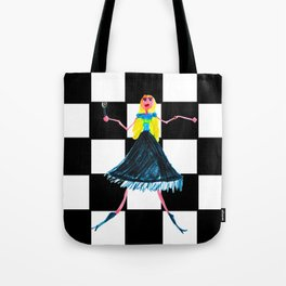 Pop Star Singer Tote Bag