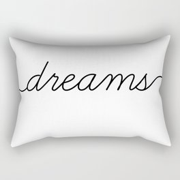 sweet dreams (2 of 2) Rectangular Pillow