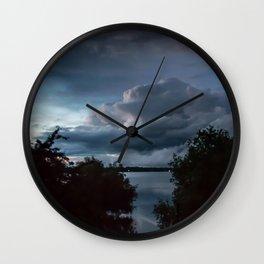 Stormy II Wall Clock