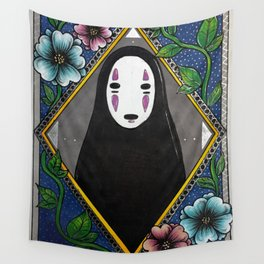 No Face Wall Tapestry