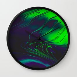 System Bleed Wall Clock