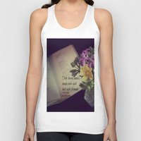 les miserables Tank Tops featuring Books Les Miserables by KimberosePhotography