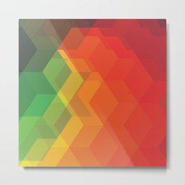 Colorful Metal Print