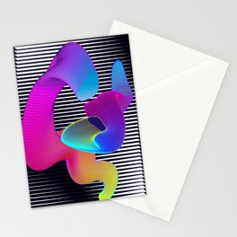 Astral Worms Stationery Cards