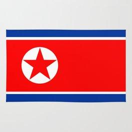 North Korea country flag Rug