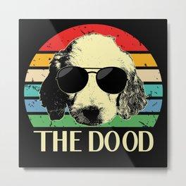 The Dood Goldendoodle Golden Retriever Metal Print