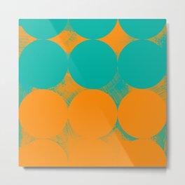 Modern Geometric 78B Metal Print