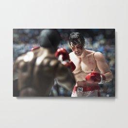 Apollo Creed vs Rocky Balboa Metal Print
