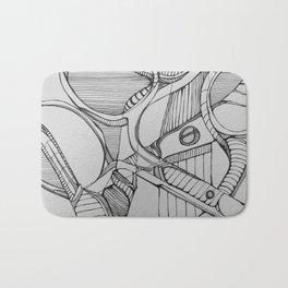 Scissoring Bath Mat