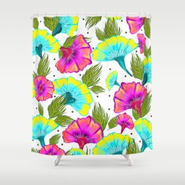 Ecstatic Floral #society6 #decor #buyart Shower Curtain