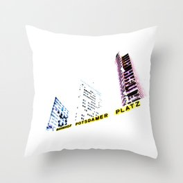 potsdamer platz, berlin. Throw Pillow