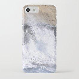 SPLASHING OCEAN WAVE iPhone Case