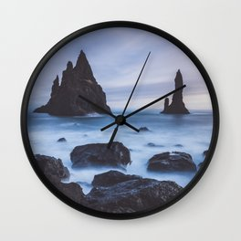 Reynisfjara - Landscape and Nature Photography Wall Clock