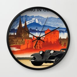 Vintage poster - Germany Wall Clock