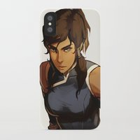 returns iPhone & iPod Cases featuring Korra Returns by Caleb Thomas