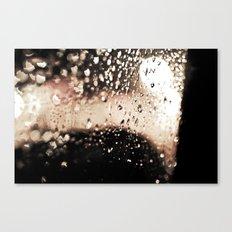 Red Rain Canvas Print