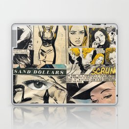 Italian Comics Vintage Pop art Collage Laptop & iPad Skin
