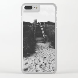 The Round and Round House II Clear iPhone Case