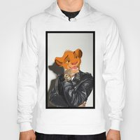 simba Hoodies featuring Lion King rocker by Andrea Vietti