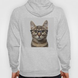Hipster Cat Hoody