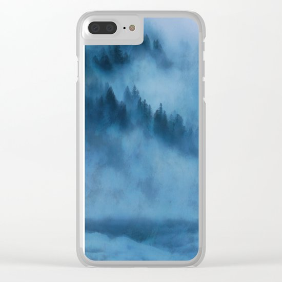 Forest Above the Clouds Clear iPhone Case