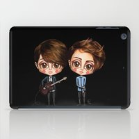 tegan and sara iPad Cases featuring Tegan and Sara by Joana Pereira