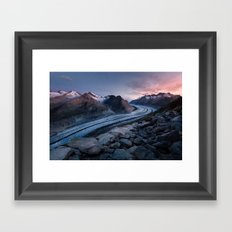 Bettmerhorn, Switzerland Framed Art Print