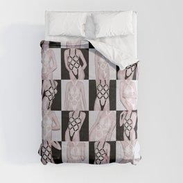 Black vs. White Comforters