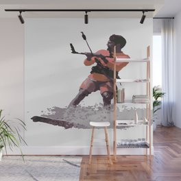 Board Out Of Your Mind Kitesurf Vector Wall Mural