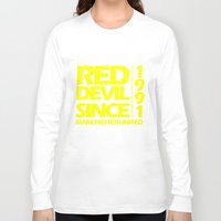 manchester Long Sleeve T-shirts featuring Since Manchester by Sport_Designs