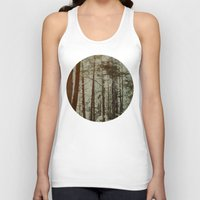 oregon Tank Tops featuring Oregon Woods by Leah Flores