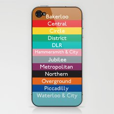 London Underground iPhone & iPod Skin