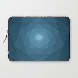 Blue Tunnel Laptop Sleeve