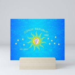 The Conch Republic Flag Mini Art Print