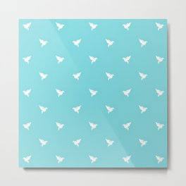 Little polka dot - Hummingbird Metal Print