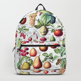 Adolphe Millot - Fruits pour tous - French vintage poster Backpack