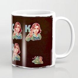 Eliza teach you how to pose F*** U ! Coffee Mug