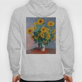 Bouquet of Sunflowers - Claude Monet Hoody