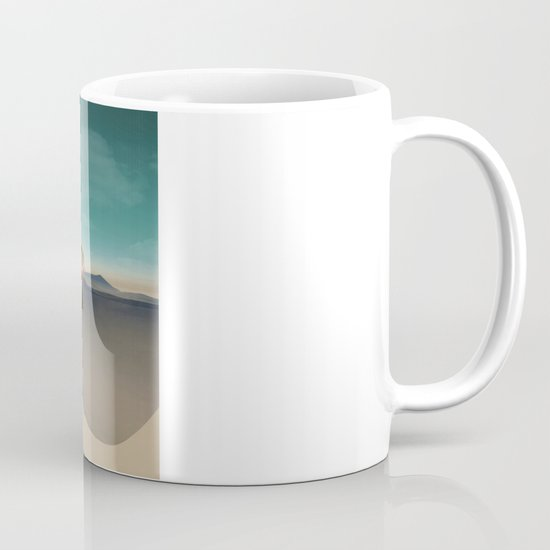 at sea in a void Mug
