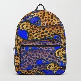 Indigo Cheetahs (Cobalt) Backpack