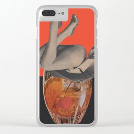 To Fall Off Clear iPhone Case