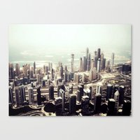 buildings Canvas Prints featuring buildings by sinnamin