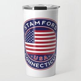 Stamford, Connecticut Travel Mug