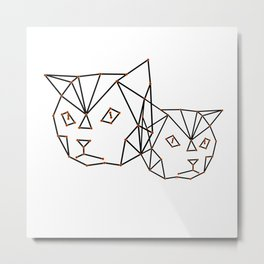 Cool cats Metal Print