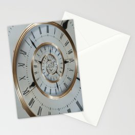 Time goes on and on.... Stationery Cards